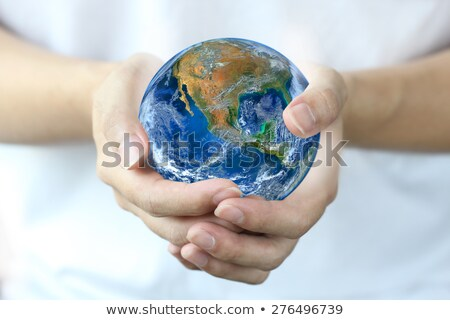 Map Of America Shows Global Warming Stock photo © stuartmiles