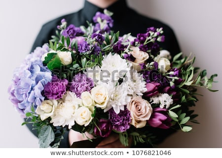 very colorful wedding bouquet stock photo © gregory21