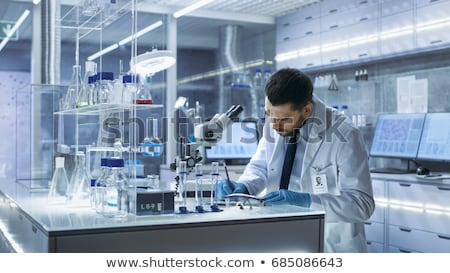 Scientist and Doctor - Lab Results Stock photo © lisafx