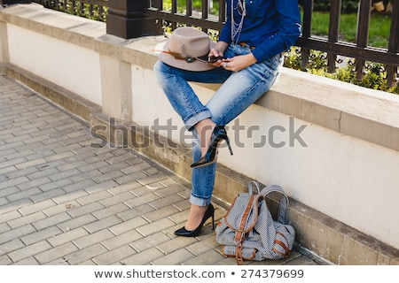 High heels and jeans Stock photo © Ariwasabi