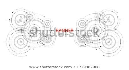 engrenagens · 3d · render · fundo · industrial · roda · conceito - foto stock © kjpargeter