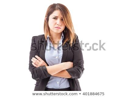 Portrait of salesperson against a white background Stock photo © wavebreak_media