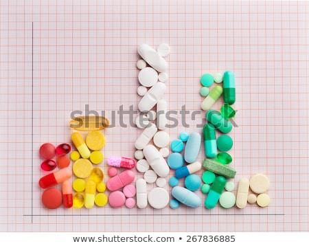 Veszélyes vényköteles gyógyszerek mérgezés drogok alszik tabletták Stock fotó © Lightsource