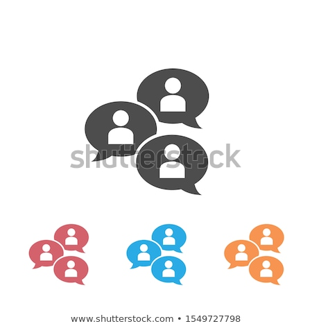 Multiple Chat Icons Stock photo © cteconsulting