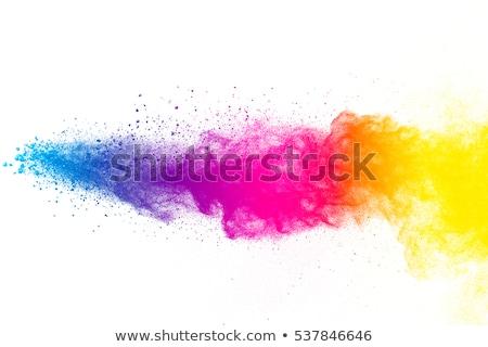 抽象的な カラフル 波 パーティ 塗料 星 ストックフォト © rioillustrator