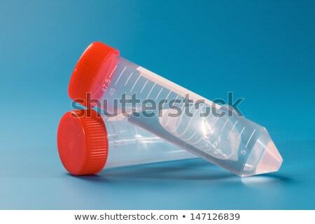 parafuso · reciclável · colorido · plástico · fundo · azul - foto stock © snyfer