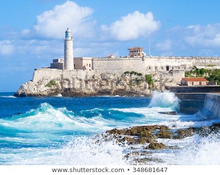 Fortress in Havana Stock photo © Hofmeester