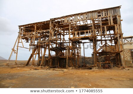 old  extraction salt machine Stock photo © mady70