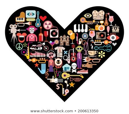 Love is many things Stock photo © maxmitzu