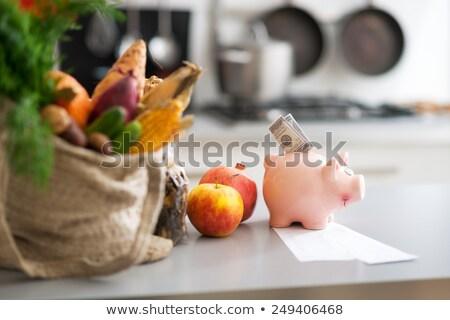 eating the money box stock photo © lighthunter