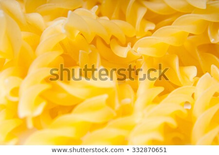 Fusilli close-up Stock photo © Supertrooper