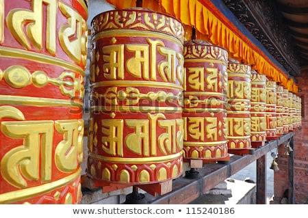 Gilded Buddhist temple Stock photo © smithore