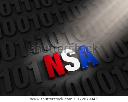 nsa hiding in the dark web stock photo © 3mc
