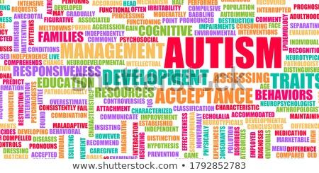 autism concept stock photo © lightsource