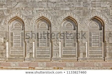 Details Grand Sultan Qaboos Mosque Stock photo © w20er