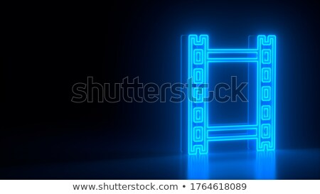 власти · кнопки · икона · темно · синий · изолированный - Сток-фото © zeffss