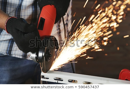 electric grinder in action stock photo © tiero