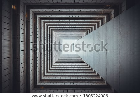 abstract view inside the tunnel stock photo © oleksandro