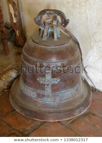 Misyon resmedilmeye değer çan kule çapraz Stok fotoğraf © aspenrock