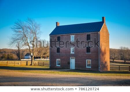 Appomattox County Courthouse National Park Stock photo © backyardproductions