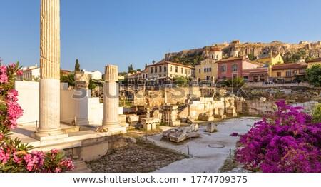 Eski bölge yatay stilize büyük Stok fotoğraf © tracer