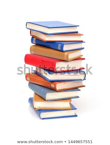 Libros árbol pequeño escritorio papel Foto stock © simply