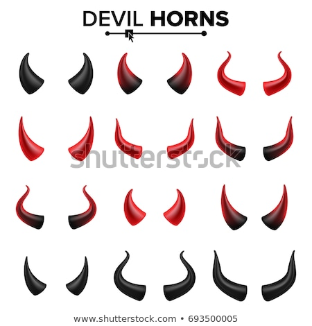 Stock photo: Devil Head at Hell