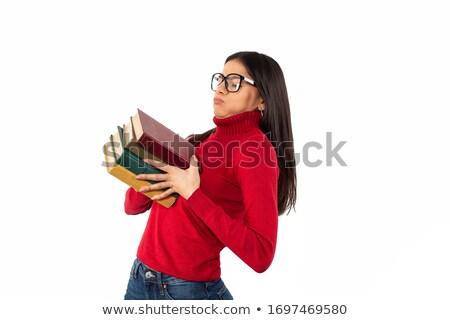книгах изолированный Сток-фото © gemenacom