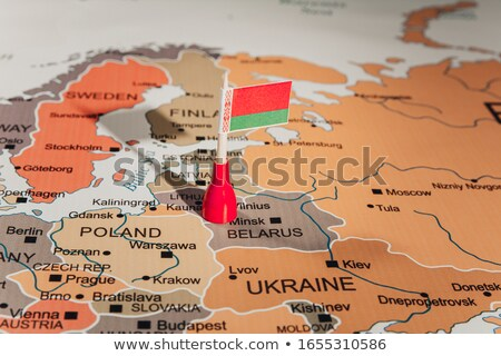 belarus map stock photo © mayboro1964