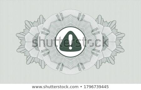 éber felirat zöld körkörös gomb ikon Stock fotó © rizwanali3d
