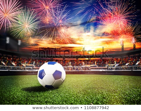 Finale fireworks Stock photo © tilo
