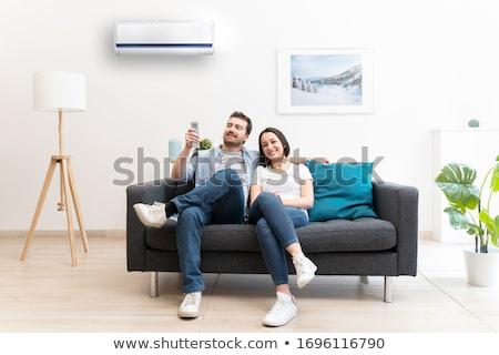 air conditioners installation stock photo © ozaiachin