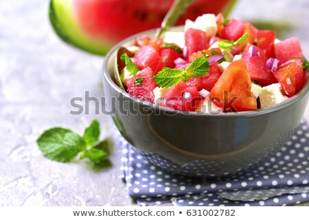 melone · anguria · insalata · alimentare · colazione · fresche - foto d'archivio © klinker