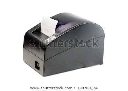Modern printer checks for Point Of Sales systems. Stock photo © RuslanOmega