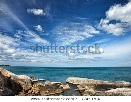 Bleu marin nuages ciel eau été Photo stock © Relu1907