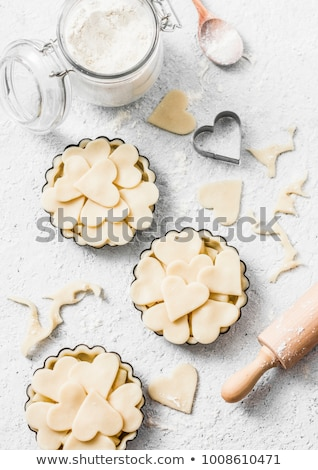 Stock photo: heart cookie cutter