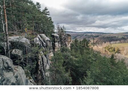 sandstone rocks stock photo © ondrej83