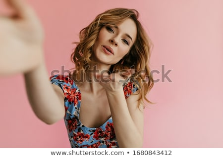 Studio shot of a gorgeous blonde  Stock photo © konradbak
