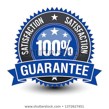 100 percent guarantee stamp stock photo © fuzzbones0