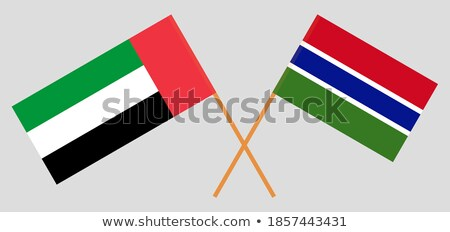 United Arab Emirates and Gambia Flags Stock photo © Istanbul2009