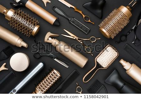 Kapsel water mode haren staal tool Stockfoto © dezign56