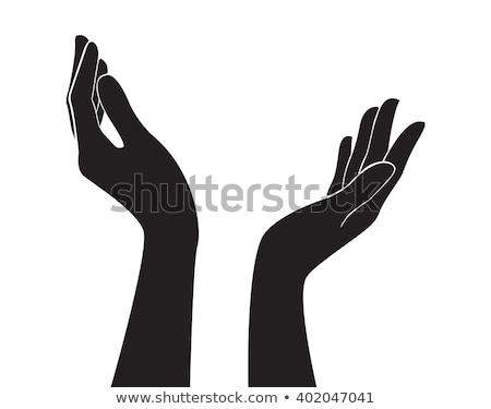 działalności · ręce · sylwetka · strony · człowiek · biznesmen - zdjęcia stock © Paha_L