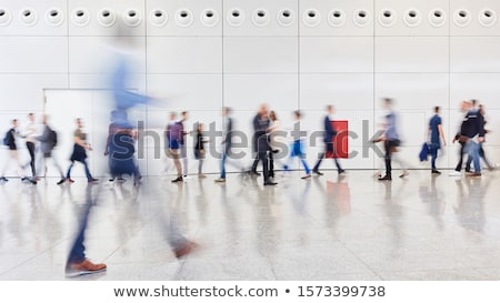 The visitors of business center Stock photo © Paha_L