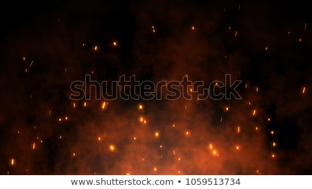 colorful night lights bokeh over dark background stock photo © dolgachov
