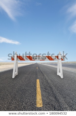 Road Block Concept Stock photo © Lightsource