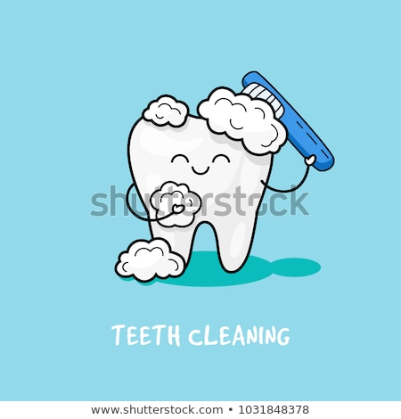 Teeth Cleaning Character Stock photo © Lightsource