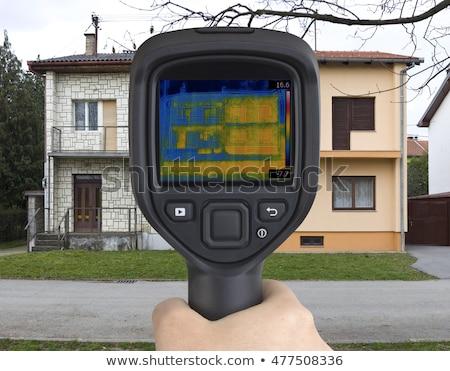 kızılötesi · sızıntı · ev · teknoloji · termometre - stok fotoğraf © suljo