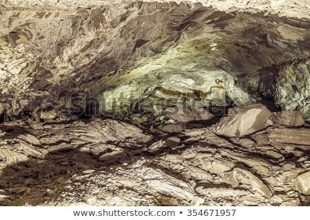 有名な 洞窟 自然 王 ストックフォト © meinzahn