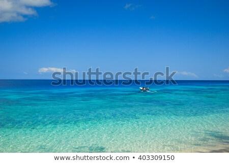 tekne · plaj · kulübe · eski · beyaz · plaj - stok fotoğraf © dmitroza