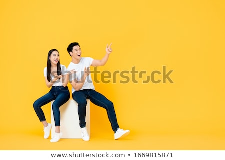 Asian people Stock photo © bluering